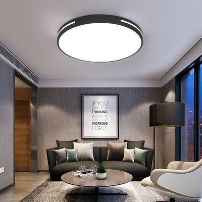 卧室灯LED吸顶灯北欧现代简约房间家用厨房圆形灯灯具阳书房灯ins
