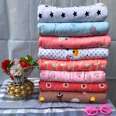 婴儿被子新生儿纯棉小薄被夏凉被空调被儿童被幼儿园宝宝午睡被褥