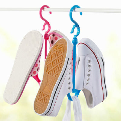 纳挂【超值1/3/5/10个装】防风多用晒鞋架,晾鞋架 晒鞋子挂钩收