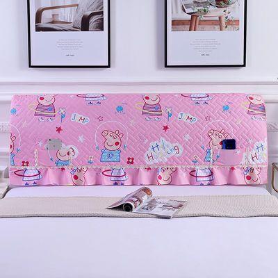 床头罩全包欧式床头套防尘罩1.5m床1.8m床简约现代弹力实木保护套