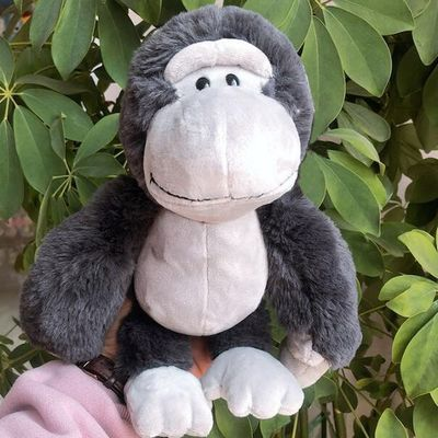 INDITEX可爱卡通大猩猩毛绒玩具公仔金刚玩具娃娃猴子贝贝
