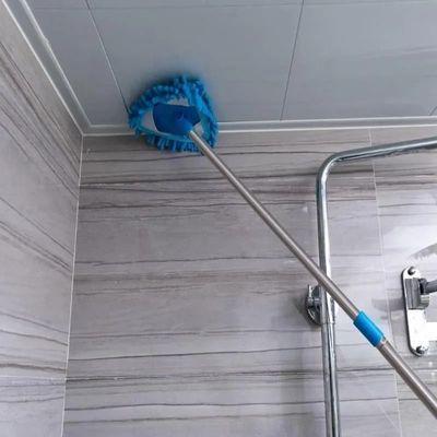 迷你小拖把家用轻便打扫擦墙卫生间厨房天花板瓷砖地墙面清洁神器