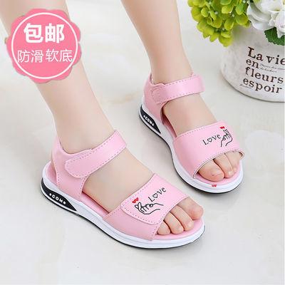 女童凉鞋儿童凉鞋女学生公主鞋2020新款韩版小女孩软底时尚女童鞋