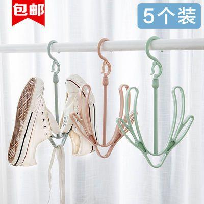 室外晒鞋器双钩防风挂鞋子的挂钩创意小型晾衣架阳台晾鞋架多功能