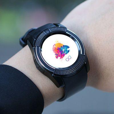 成年儿童电话手表学生男女智能手表手机定位防水防摔插卡触屏手表