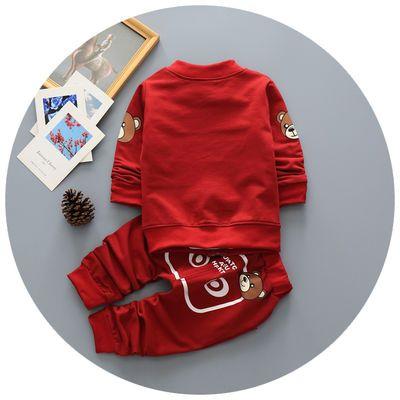 童装男童春装3件套装0-3岁小童纯棉1婴儿2服装宝宝衣服8清仓特价