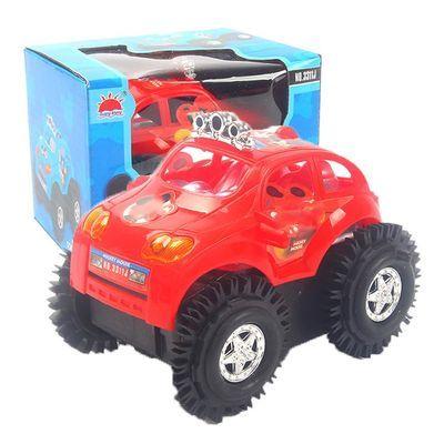电动玩具车特技翻斗车全自动蜜蜂儿童男孩女孩越野车抖音网红同款