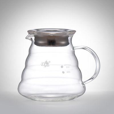 帝国DG-2119云朵壶耐热手冲咖啡壶 滴漏式玻璃美式壶360ml/600ml