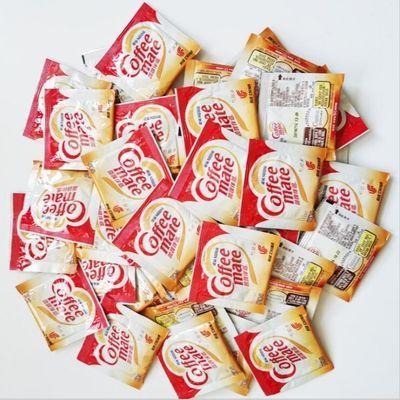 雀巢咖啡奶伴侣 咖啡伴侣植脂末奶茶红茶奶精粉3g*100袋