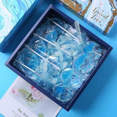 网红海洋之心海豚棒棒糖星空樱花高颜值网红糖果送女友生日礼物