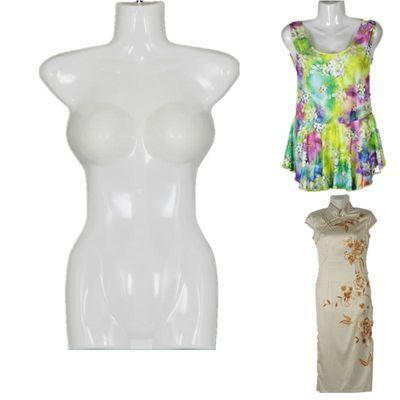 服装模特道具男女半身儿童泳衣展示模特衣架塑料模特片悬挂假人