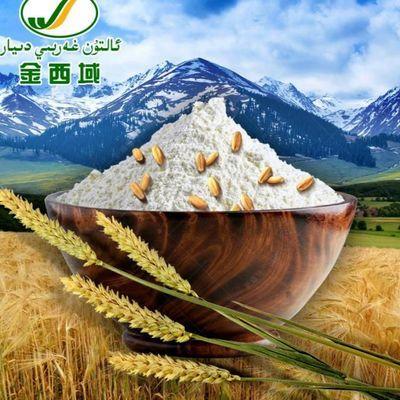 新疆面粉5kg/10斤 金西域面粉特一粉面粉 八一面粉 装无增白包邮