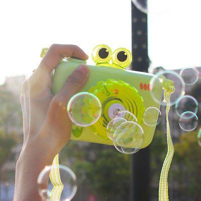 儿童网红泡泡机相机少女心全自动抖音同款照相机吹泡泡玩具不漏水