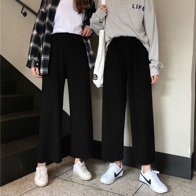 直筒牛仔裤女春秋高腰拖地裤子2020新款宽松休闲裤显瘦夏季阔腿裤