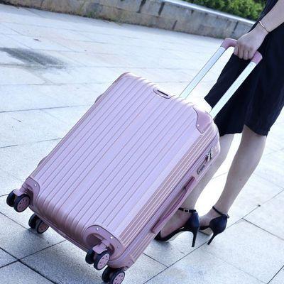 行李箱女拉杆箱大容量箱子密码箱男万向轮韩版小清新学生旅行箱子