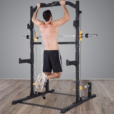 雷克综合训练器家用史密斯机商用哑铃凳深蹲架卧推龙门架健身器材
