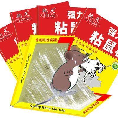 老鼠贴强力粘鼠板灭鼠电猫捕鼠老鼠神器驱鼠器老鼠板老鼠夹捕鼠笼