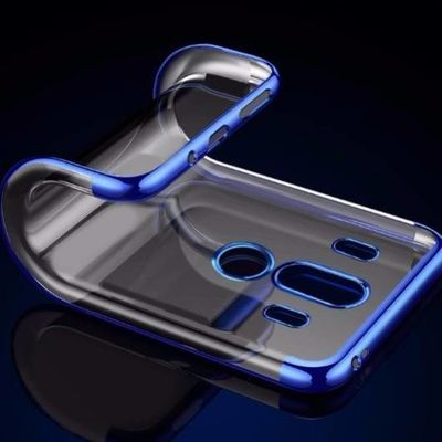 华为mate10手机壳mate10Pro保护套mt10超薄全包透明电镀硅胶软壳
