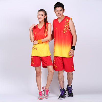 球衣男篮球服套装男女款 夏季球衣比赛服男女同款球服学生定制