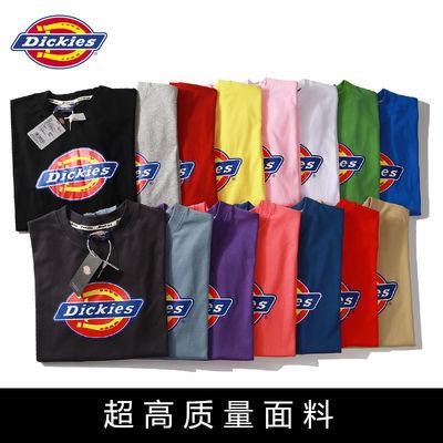 【超高质量】迪克斯T恤夏季欧美潮牌Dickies短袖情侣男女同款纯棉