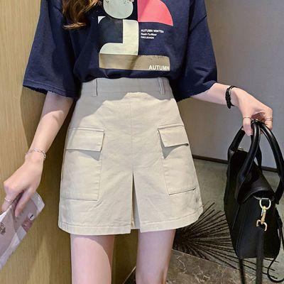 高腰半身裙女2020夏季新款时尚显瘦a字裙小个子百搭包臀裙短裙子
