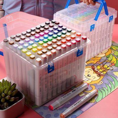 马克笔套装便宜小学生星空漫画36/48色touch正品手绘画全套彩色笔