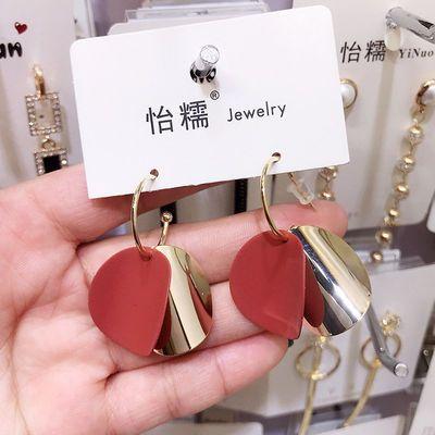 2020新款韩国气质s925银耳环女会动超仙耳钉耳坠个性百搭耳饰