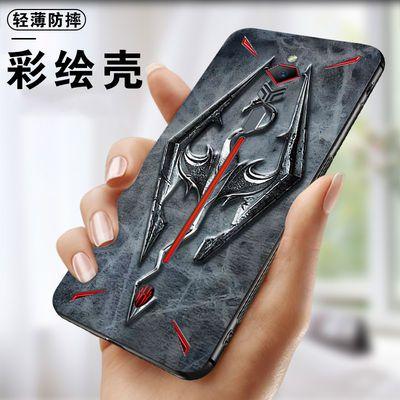 努比亚红魔Mars2代u002F红魔3手机壳红魔3s新款防摔磨砂壳手机保