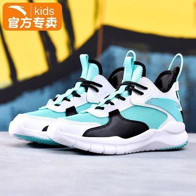 10015/安踏儿童篮球鞋男童鞋子2021新款夏季大童运动鞋网面透气耐磨防滑