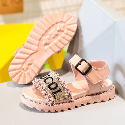 女童凉鞋2020新款韩版时尚软底夏季网红仙女风鞋子儿童小公主鞋女