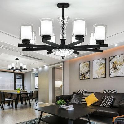 北欧吊灯现代简约轻奢大气客厅灯美式创意卧室灯简欧餐厅吸顶灯具