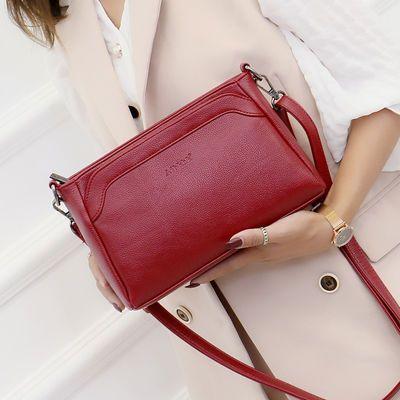 女士包包新款真皮女包时尚单肩斜挎包中老年妈妈包百搭中年大容量