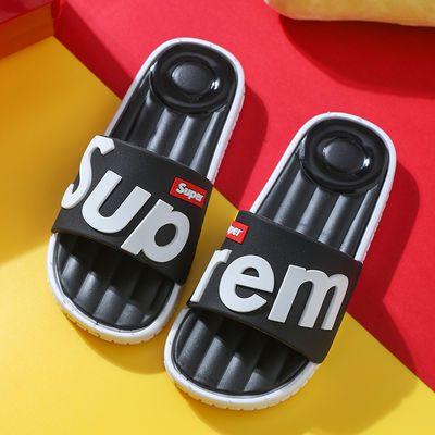 儿童拖鞋夏季可爱卡通男女童家居洗澡防滑室内家用亲子宝宝凉拖鞋