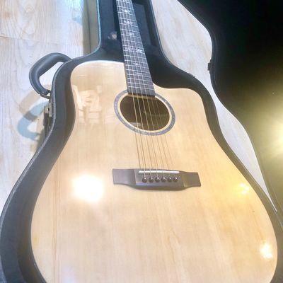 全单吉他 41寸36寸云杉木吉他手工全单板电箱民谣吉他 厂家直销