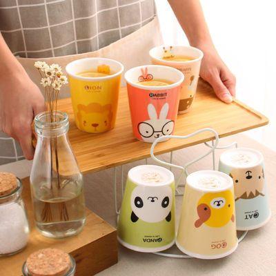 喝水杯子套装家用客厅陶瓷水具耐热高温凉冷水壶花茶杯咖啡杯套装