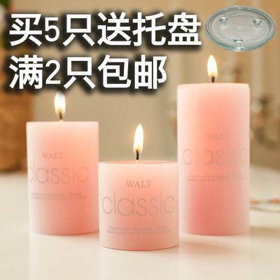 香薰蜡烛浪漫无烟家居婚庆生日表白欧式烛光晚餐家用蜡烛去除烟味