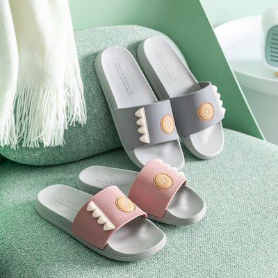拖鞋女夏外穿学生韩版拖鞋家用防滑室内情侣男女士厚底软底凉拖鞋