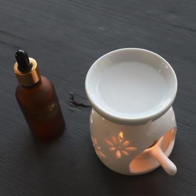 新款香薰灯精油灯浪漫卧室蜡烛家用陶瓷熏香炉精油香粉沉香檀香香