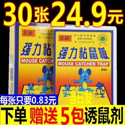 老鼠贴批发超强力粘鼠板批发老鼠粘鼠灭鼠器夹药抓捉大老鼠笼胶沾