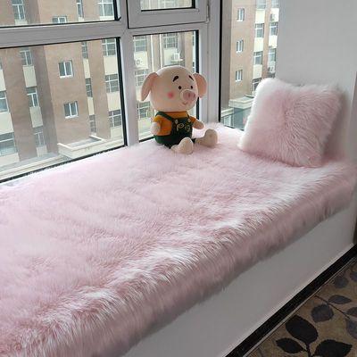 爆款加厚长毛绒地毯卧室飘窗沙发垫阳台地垫客厅房间床边仿羊毛毯