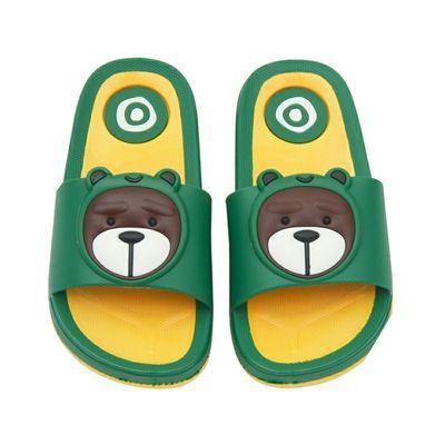 2020新款可爱熊熊软夏季卡通拖鞋宝宝小熊家居拖鞋男女童PVC拖鞋