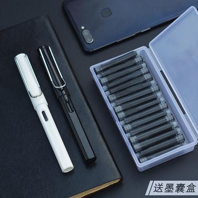 【送墨囊盒】正姿钢笔学生男女可换墨囊办公练字笔明尖EF铱金笔尖的宝贝主图