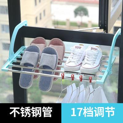 爆款窗台晒鞋架子置物架悬挂窗外凉神器挂钩室外阳台暖气片晾衣架