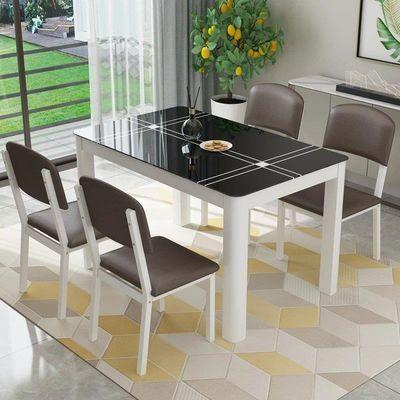餐桌椅组合小户型餐桌饭桌家用长方形桌子吃饭桌子4人6人