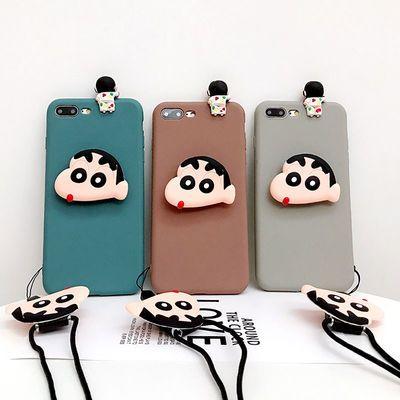 OPPOreno可爱手机壳OPPOr11/r9女r11s支架r9s plus挂绳防摔男软潮