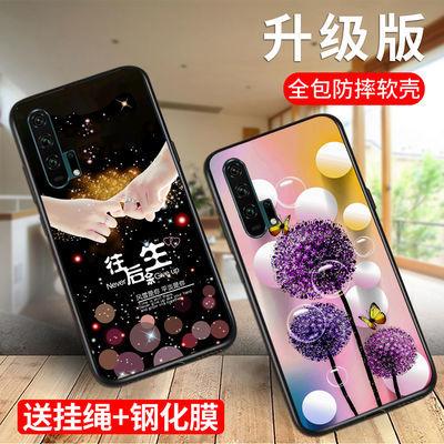 华为荣耀8x/9x手机壳女20pro/9x10/20青春硅胶软壳防摔男磨砂新款