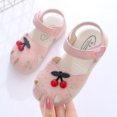 女童凉鞋2020夏季新款儿童学步鞋婴幼儿可爱女宝宝防滑软底公主鞋