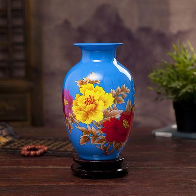 爆款陶瓷小花瓶家居客厅桌面小摆件装饰创意花器插花干花植物水培