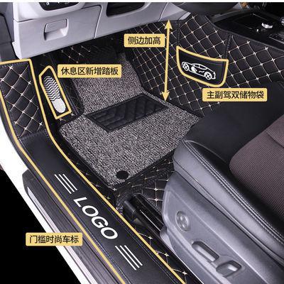捷达vs5一汽大众捷达VS5专用全包围丝圈汽车脚垫19款捷达va31.4T