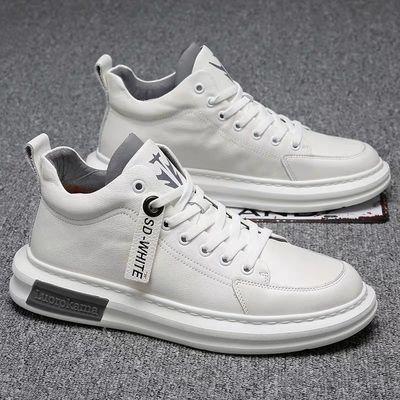 男鞋夏季潮鞋2020新款男士韩版潮流内增高鞋子男运动休闲百搭板鞋